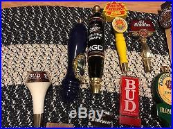 Huge Lot Of 35 Beer Tap Handles- Vintage Schlitz, PBR, Bud, Miller. Man Cave