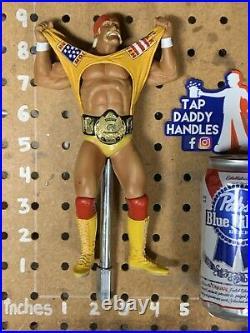Hulk Hogan Beer Keg Tap Handle WWF Wrestlemania Pro Wrestling WCW WWE