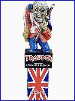 Iron Maiden Robinsons SOLD OUT Limited Edition'Trooper' Beer Pump Tap Handle