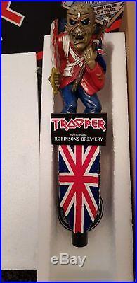 Iron Maiden Trooper Beer Eddie Eddy Pump Tap Handle Bar Pub L@@k Look Rare
