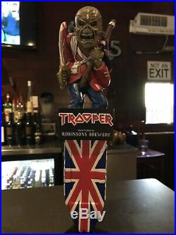 Iron Maiden Trooper Eddie Beer Tap Handle Nice