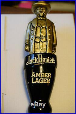 Jack Daniels Amber Lager Beer Tap Handle