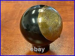 Kaier's beer ball tap knob Mahanoy City Pennsylvania marker handle vintage