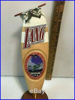 LANG CREEK SPITFIRE IPA beer tap handle. MONTANA