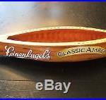 LEINENKUGELS LARGE Canoe Shaped Beer Tap Handle -Classic Amber logo LEINIE'S