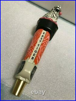 LOST FORTY EASY TIGER beer tap handle. ARKANSAS