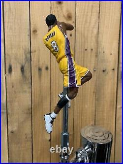 LOS ANGELES LAKERS Beer Keg TAP HANDLE Kobe Bryant NBA Yellow Jersey LA