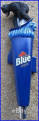 Labatt Blue Bear On Wakeboard Figural Beer Tap Handle BRAND NEW IN BOX Pub RARE