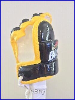 Labatt Blue NHL Pittsburgh Penguins Canadian Pens Hockey Glove Beer Tap Handle