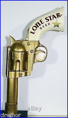 Lone Star Beer Colt 45 Gun Figural Tap Handle
