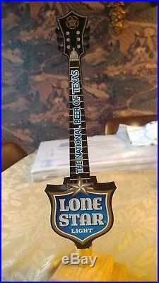 Lone Star Light Blue Beer Tap Handle