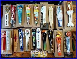 Lot Of 21 Beer Tap Handles