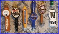 Lot Of 25 beer TAP Handles domestic & import PNW NW reubens deschutes elysian