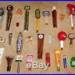Lot Of (30) Older Vintage BEER TAP HANDLE HANDLES KNOBS (1 Money!) Some In Bags