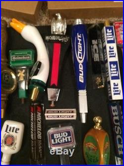 Lot Of 31, beer tap handle, New in the Box Shiners, Bridgeport Negro Cafe