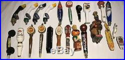 Lot Of 50 Beer Tap Handles Plus Bonus Miller Lite Sign