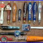Lot of 15 Beer Bar Tap Handles Stella Artois Killians Harpoon IPA Budweiser