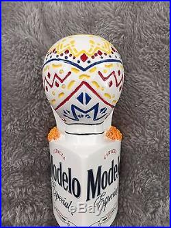 Lot of 2 Negra Modelo & Modelo Especial Dia De Los Muertos Beer Tap Handle Pulls