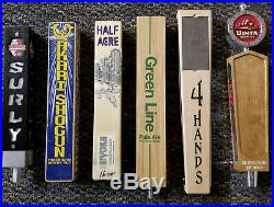 Lot of 37 Draft Beer Tap Handles Dogfish, Surly, 5 Rabbit, Deschutes, MANY MORE
