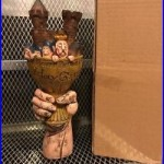 MONTY PYTHON'S HOLY GRAIL ALE NEW Figural Castle Chalice Beer Tap Handle