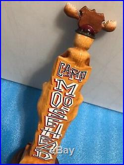 MOOSEHEAD TOTEM POLE beer tap handle. CANADA