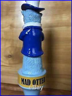 Mega Rare Monterey Bay Crazy Eye Mad Otter Pale Ale Rare Figural Beer Tap Handle