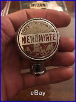 Menominee River Brewing Co. Michigan Original Tap Handle