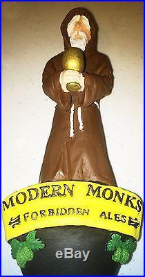 Merry Belgian Monk Beer tap Handle VISIT MY STORE Modern Belgium Trappist
