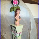 Miami Vice IPA Beer Tap Handle NIB 12