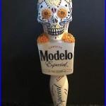 Modelo Especial Dia De Los Muertos Beer Tap Handle