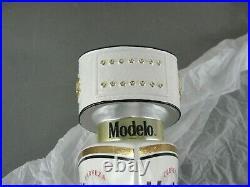 Modelo Especial Draft Beer Bar Tap Handle White Gold Mma Ufc Belt New Nib 14