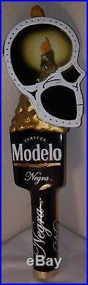 Modelo and Negra Modelo Dia de losMuertos Skull limited edition Beer Tap Handle