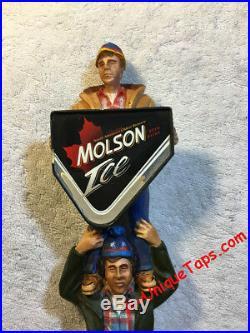Molson Ice Bob & Doug McKenzie SCTV 1980's Beer Tap Handle Visit my ebay store