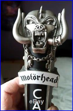 Motorhead Official Road Crew Beer Tap Handle. Figure. Trooper. RARE XMAS GIFT