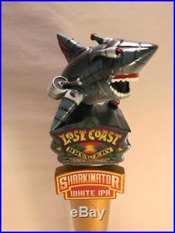 NEW Lost Coast SHARKINATOR Beer Tap Handle Bar Eureka Ca Brew Craft