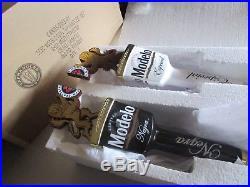 NEW RARE Modelo Dual Lion Tap Handle Set Especial Negra Beer bar Kergerator lot