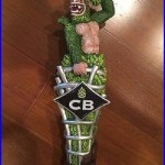NIB Caged Alpha Tap Handle NEW CB Craft Brewers Green Monkey Taphandle Beer Knob