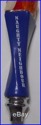 Naughty Neighbour Nickel Brook Tap Handle NICE Keg Beer 12.5 Tall