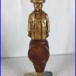 New Jack Daniels Cowboy Vintage Beer Tap Handle Knob Rare Man Cave Breweriana