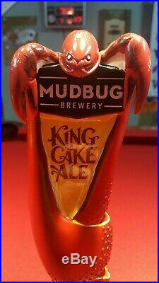 New Mudbug Brewery Crayfish Beer Tap Handle