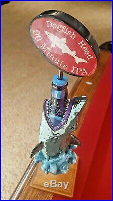 New & Rare Dogfish Head Brewery Shark Beer Tap Handle