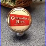 Old Vintage Griesedieck Bros Beer Tap Tapper Handle St. Louis Mo
