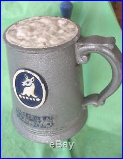 Original old vintage WHITBREAD advertising beer pub tap handle pump man cave etc