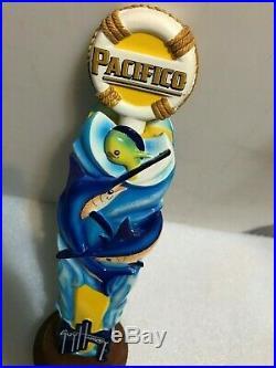 PACIFICO GUY HARVEY NAUTICAL 3D MARLIN beer tap handle. MEXICO