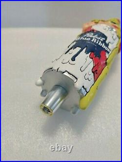 PBR Pabst Blue Ribbon Pizza Beer Can New in Box 12 Draft Beer Keg Tap Handle