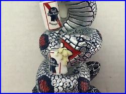 PBR Pabst Blue Ribbon Rare Snake Can Anaconda 11 Draft Beer Tap Handle Mancave