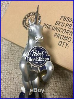 PBR Unicorn Beer Tap Handle Visit my ebay store Pabst Blue Ribbon Art