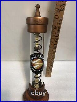 POWERHOUSE BREWING 1.21 GIGA-HOPS IPA TESLA TUBE beer tap handle. INDIANA