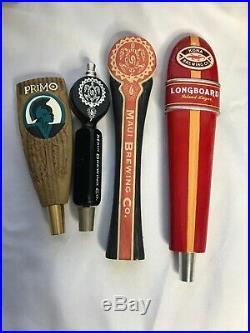 PRIMO BEER, Maui Brewing, Kona Hawaiian Hawaii BEER Beer Tap Handle Lot VERY RARE