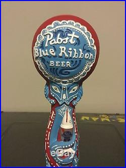Pabst Blue Ribbon Pbr Octopabst Beer Tap Handle 2013 Mint In Box Rare